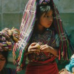 Guatemala girl at market
