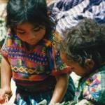 Indian kids Guatemala
