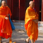 Buddhist monks Hanoi, Vietnam