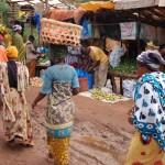 outdoor market Tanzania