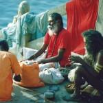Sadhus Varanasi, India