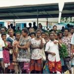 street show Kokopo, PNG